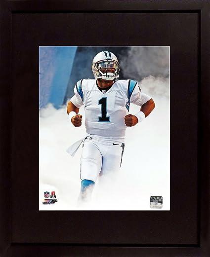 "Carolina Panthers Cam Newton ""Superman!"" 11x14 Photograph (SGA Value  Series) Framed e6d195b14"
