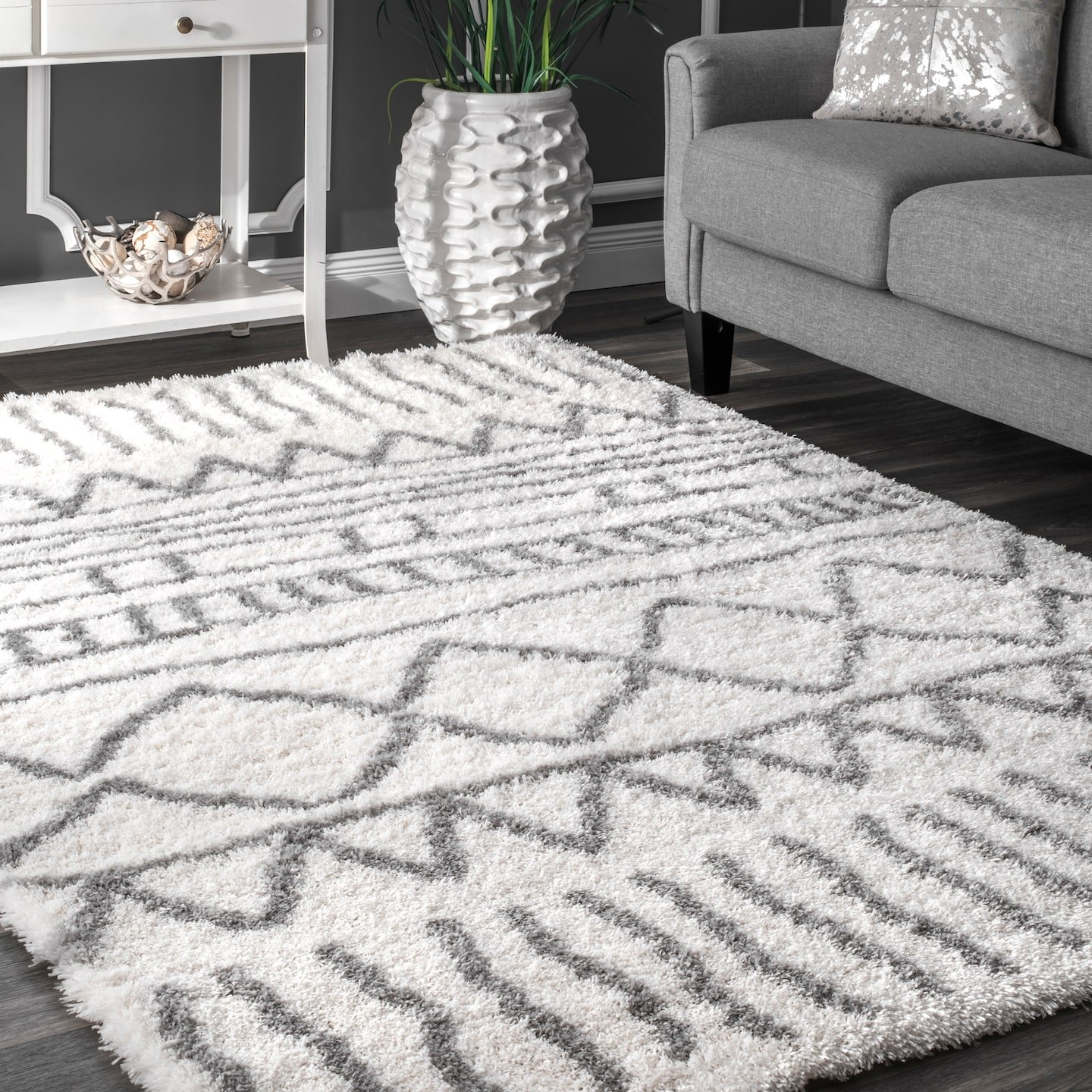 Grip-It Cushioned Non-Slip Rug Pad for Rugs on Hard Surface Floors, 5 by 8-Feet
