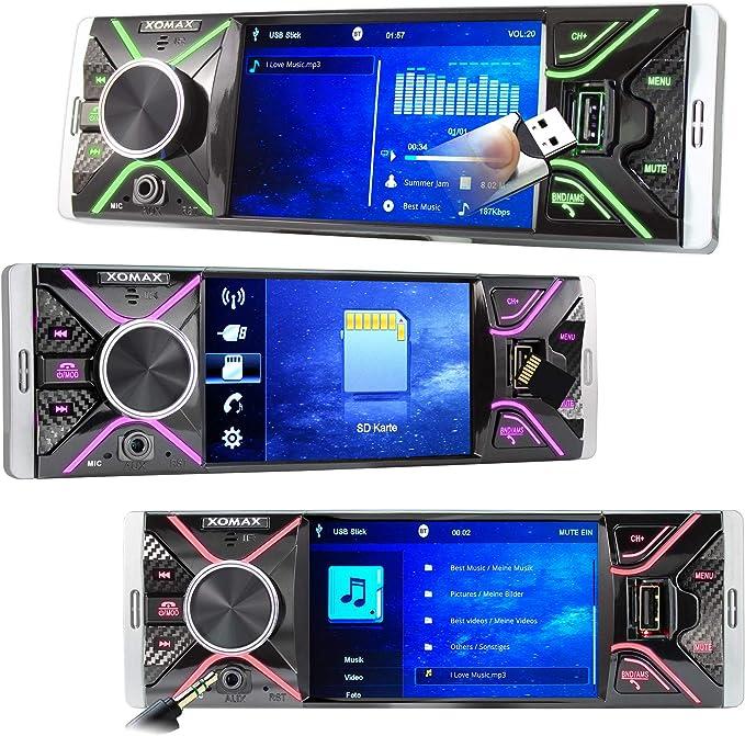 XOMAX XM-V417 Autoradio avec écran 4.1