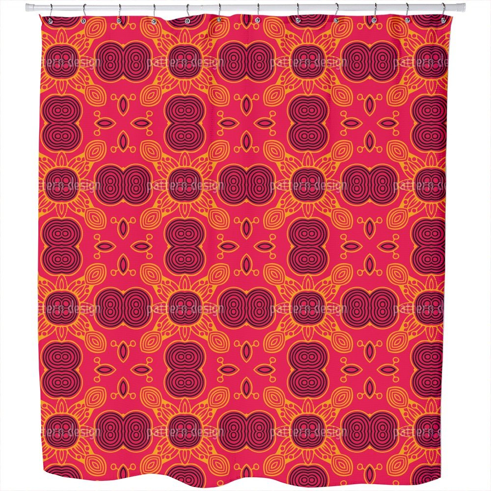 Uneekee The Sunkings Game Shower Curtain: Large Waterproof Luxurious Bathroom Design Woven Fabric