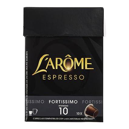 LArôme Espresso Fortissimo Café - 10 Cápsulas