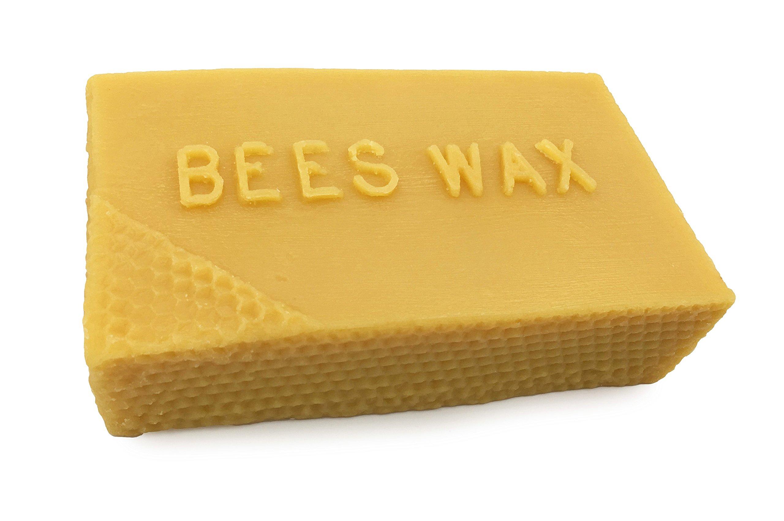 20 Ounces Premium, Pure All Natural Beeswax Bar. Alternative Imagination Brand