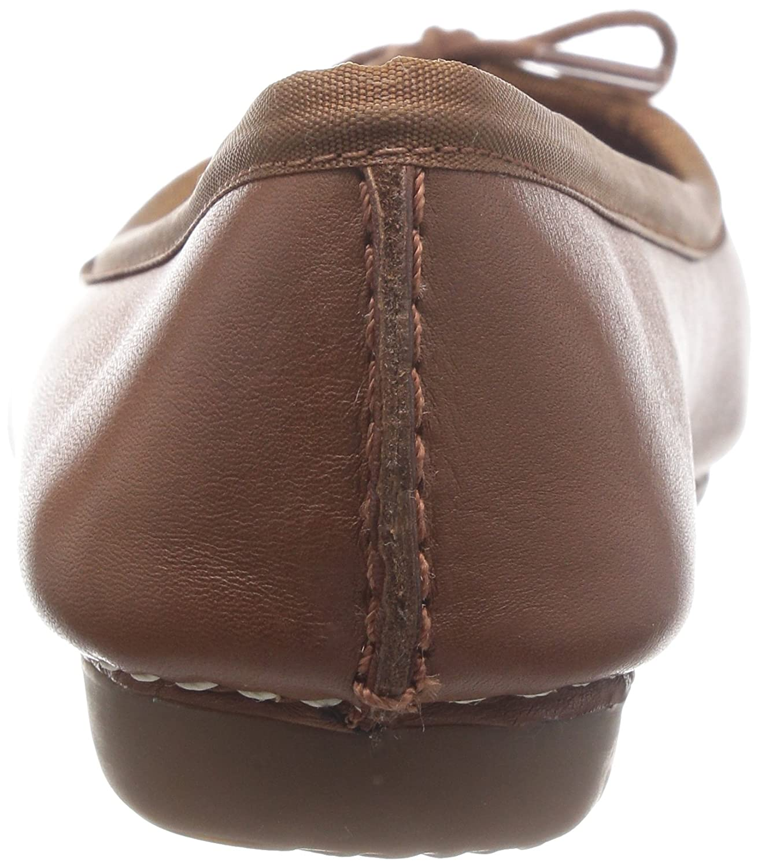 clarks freckle ice foncé tan leather