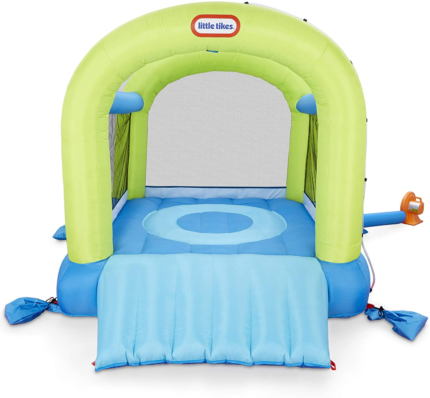 Little Tikes Splash n' Spray Indoor/Outdoor 2-in-1 Inflatable Bouncer
