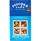 3 X Salted Caramel Gourmet Popcorn Shed's | Salted Caramel Popcorn 3 x 80g | Popcorn Gift