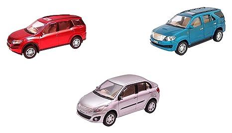 Buy Centy Toys Combo Of Xuv 500 Fortuner And Swift Dezir Multi