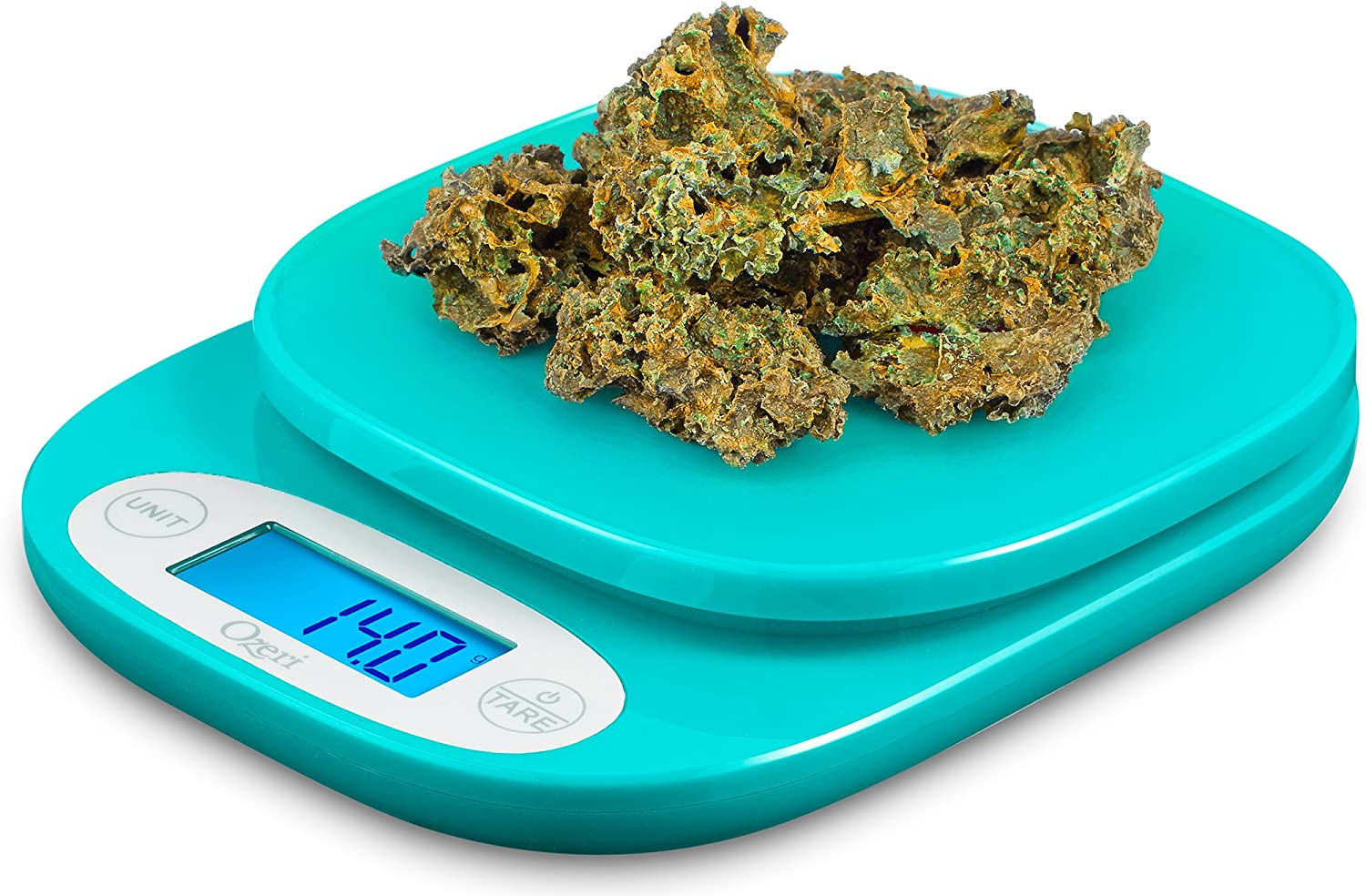 Ozeri ZK24-T ZK420-T Garden And Kitchen Scale, One Size, Teal