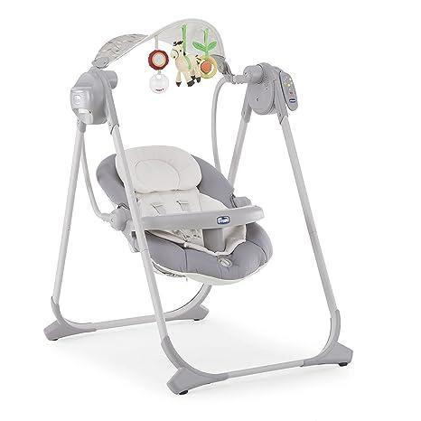 Chicco Polly Columpio Hasta 07079110490000 bebé swing, plata