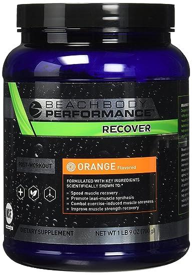 Beachbody Performance Orange Recover 20 Serving Tub