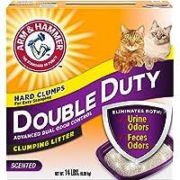 Double duty clumping cat litter 6.35 kg