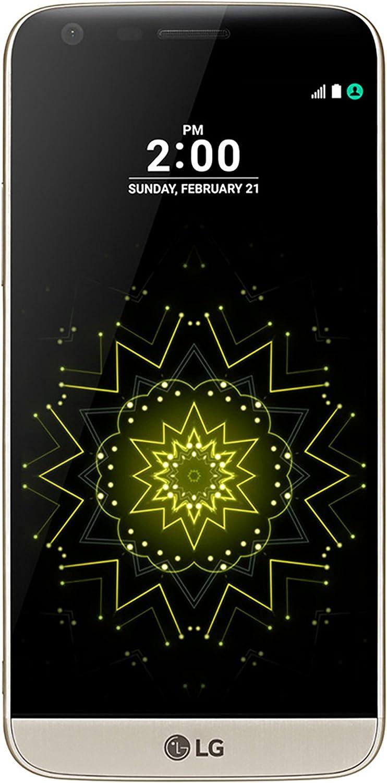 "LG G5 H820 32GB 5.3"" QHD Display, Dual Rear 16MP Cameras, 4G LTE Unlocked Phone, Gold"