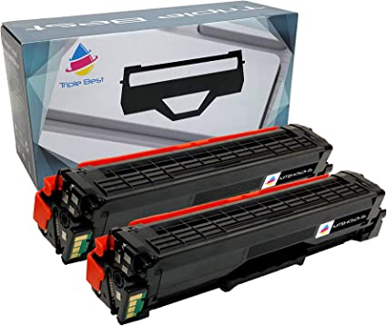 6 Pack CLT-K504S Color Toner Set for Samsung C1860FW C1810W CLP-415NW CLX-4195FW
