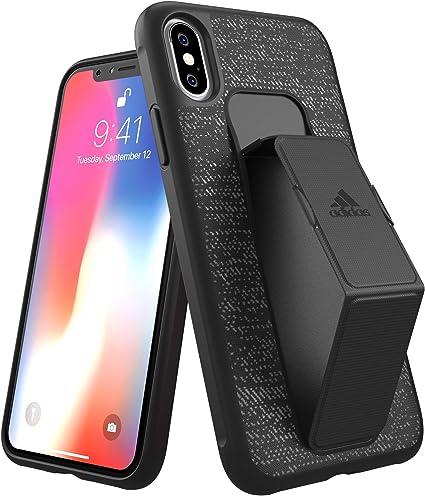 Cariñoso el plastico Elástico  Amazon.com: adidas SP Grip Case FW18 for iPhone X/Xs Black, Black