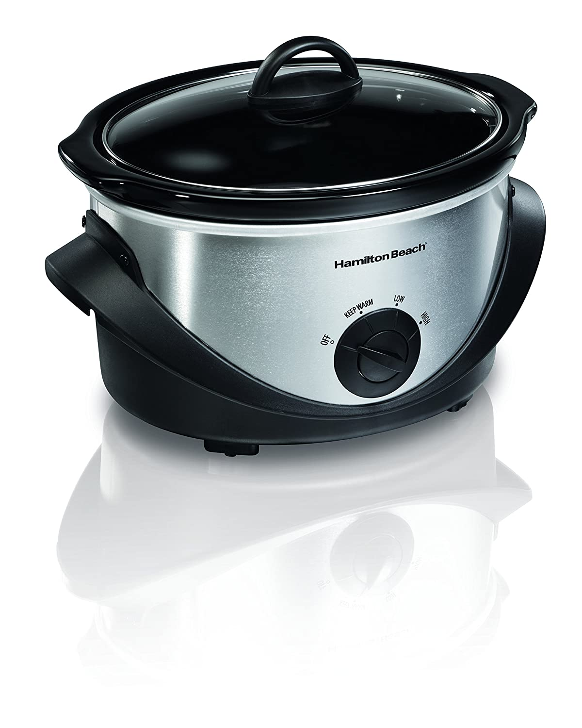 Amazon.com: Hamilton Beach 33141 4-Quart Oval Slow Cooker ...