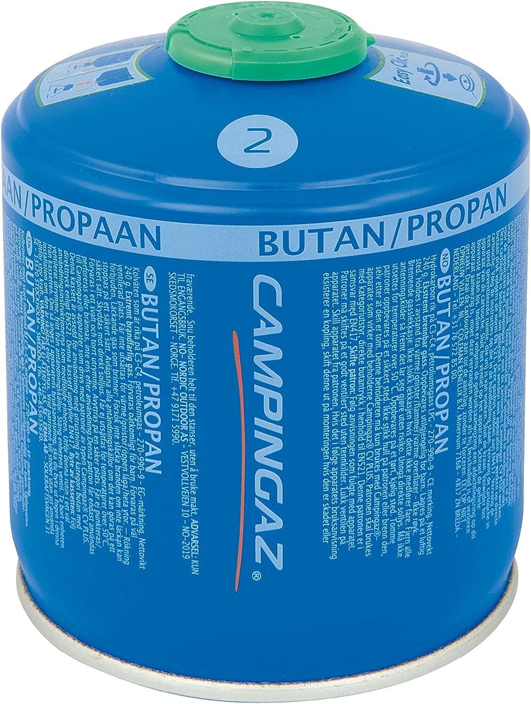 Campingaz CV 300 Plus - Cartucho de gas con válvula 430 ml, peso neto 240 g