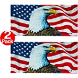 Ben Kaufman - The Eagle Has Landed / American Flag - Extra LARGE Beach and Pool Towel