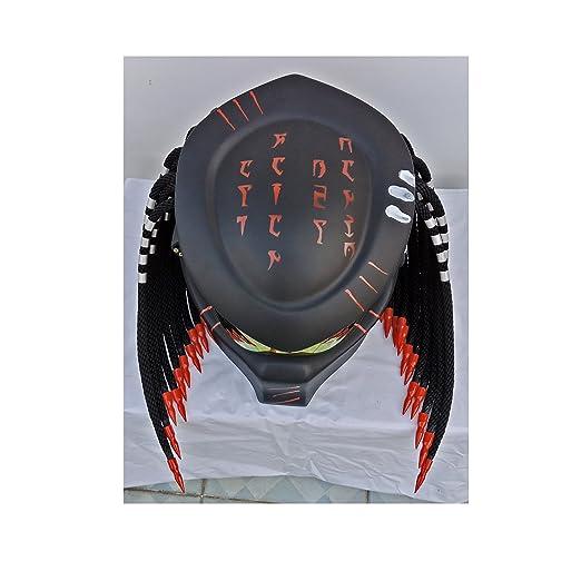 Amazon.es: HAT 106 - Casco con diseño de «Depredador», talla XXL (63-64 cm)