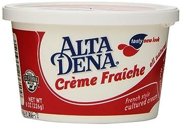 Dairy Pure Creme Fraiche 8 Oz Amazon Com Grocery Gourmet Food