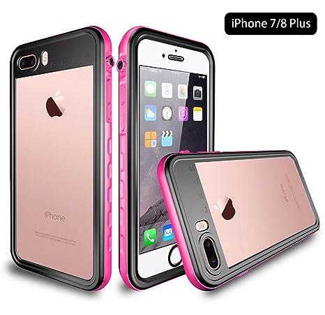 Amazon.com: Funda impermeable para iPhone 8 Plus/7 Plus ...