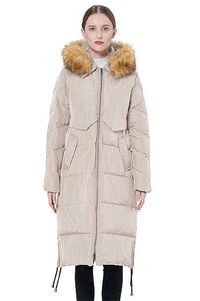 Amazon.com: Orolay - Abrigo de invierno con cordón para ...