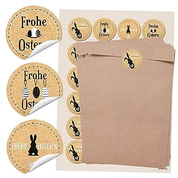 96 grandes bolsas de papel marrón (16,2 x 23 cm) y 24 ...