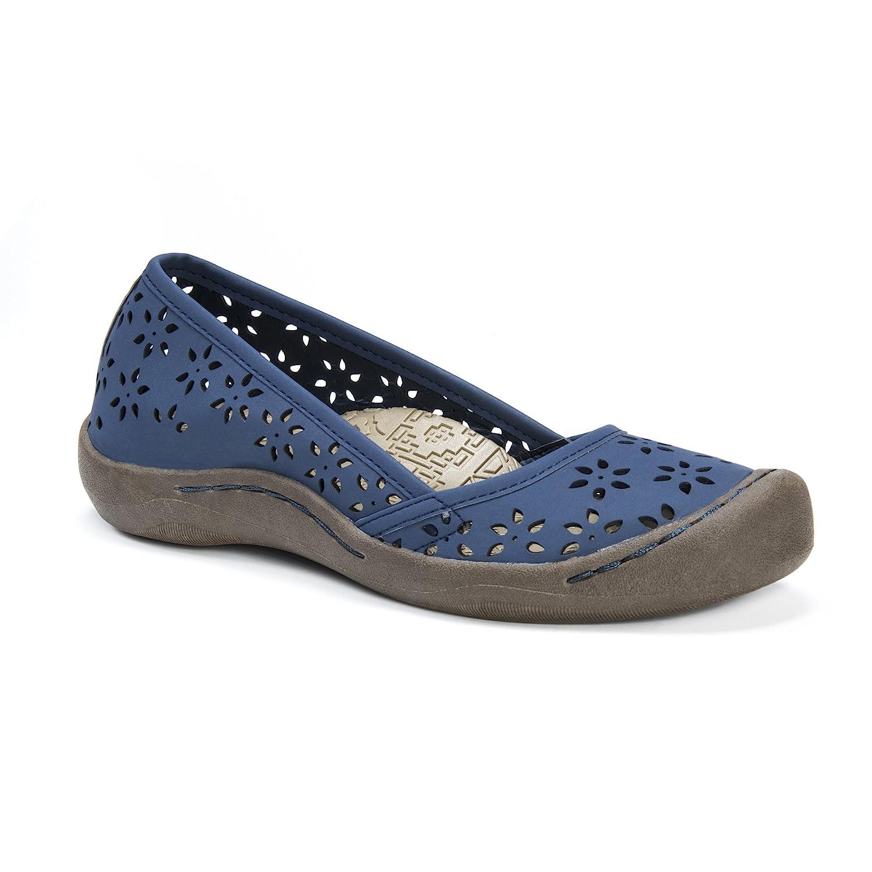 MUK LUKS Women's Sandy Shoes Sneaker B01N6TKEGK 8 B(M) US|Navy