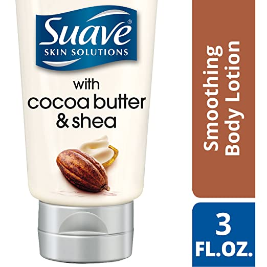 Suave Skin Solutions Body Lotion, Smoothing with Cocoa Butter and Shea 3 oz