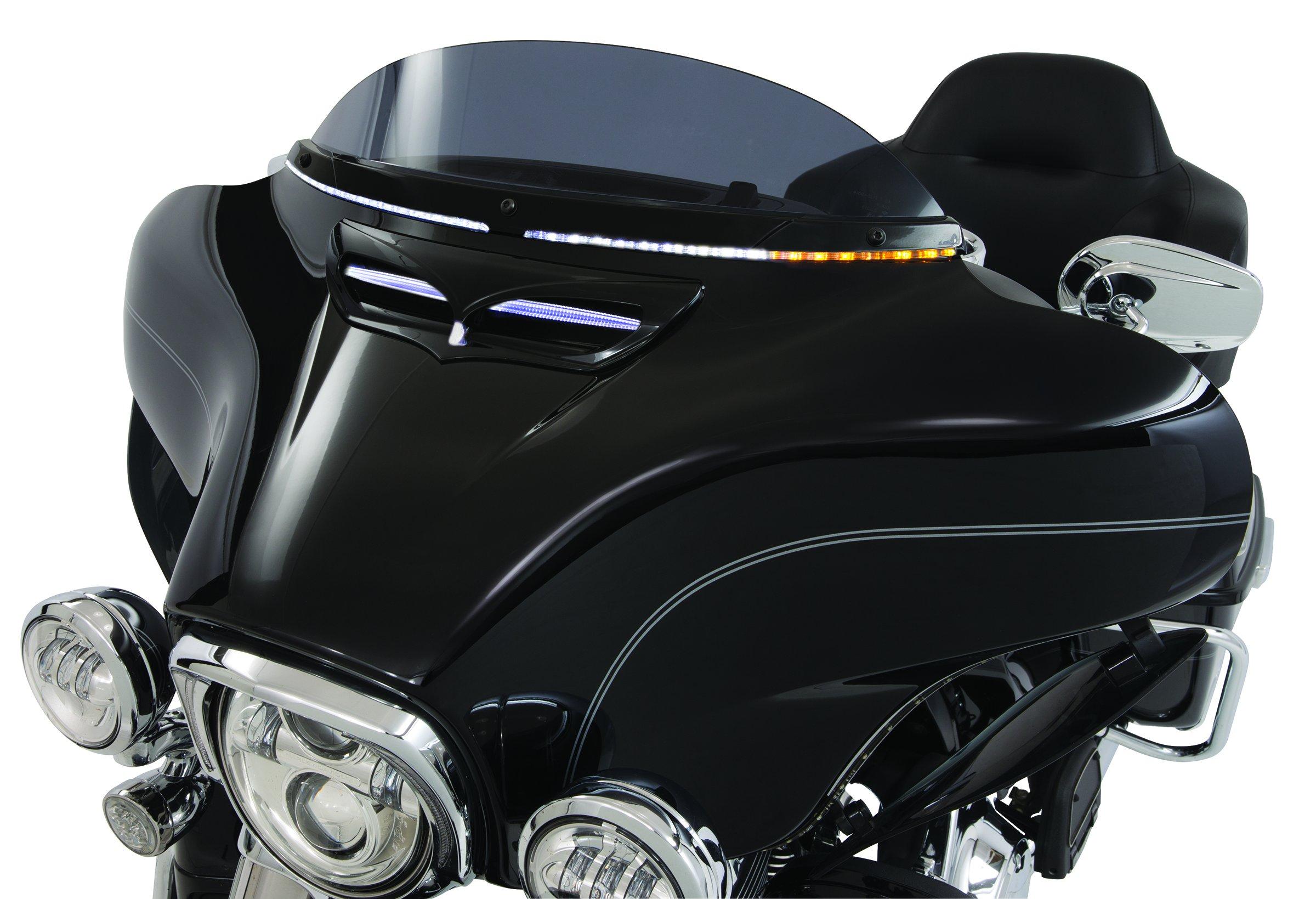 LED Lighted Horizon Windshield Trim - Black