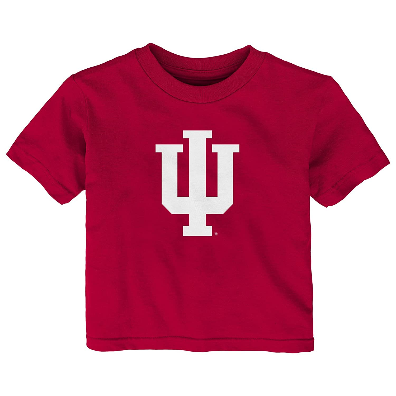 Outerstuff NCAA Indiana Hoosiers Infant Primary Logo Short Sleeve Tee 12 Months Dark Red