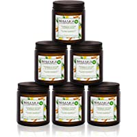 Air Wick Botanica Candle Caribbean Vetiver and Sandalwood, Pack of 6