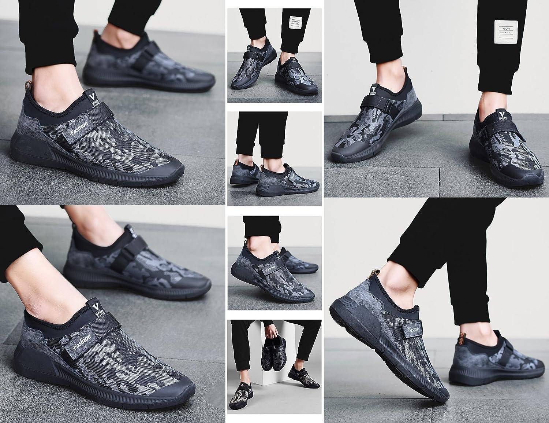 GNEDIAE Calzado Deportivo para Hombre Calzado Deportivo para Hombre Malla Calzado Deportivo de Malla Hombre Transpirable Calzado Deportivo para Correr Gris 40 EU Adecuado para Longitud del pie 24.2-24.6cm 100e9e