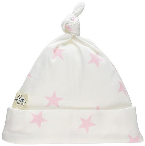 Poco Camarón bebé recién nacido Niñas Rosa Star gorro en bolsa con ...