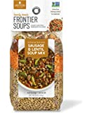 Frontier Soups Hearty Meals Indiana Harvest Sausage Lentil Soup Mix, 16 Ounce