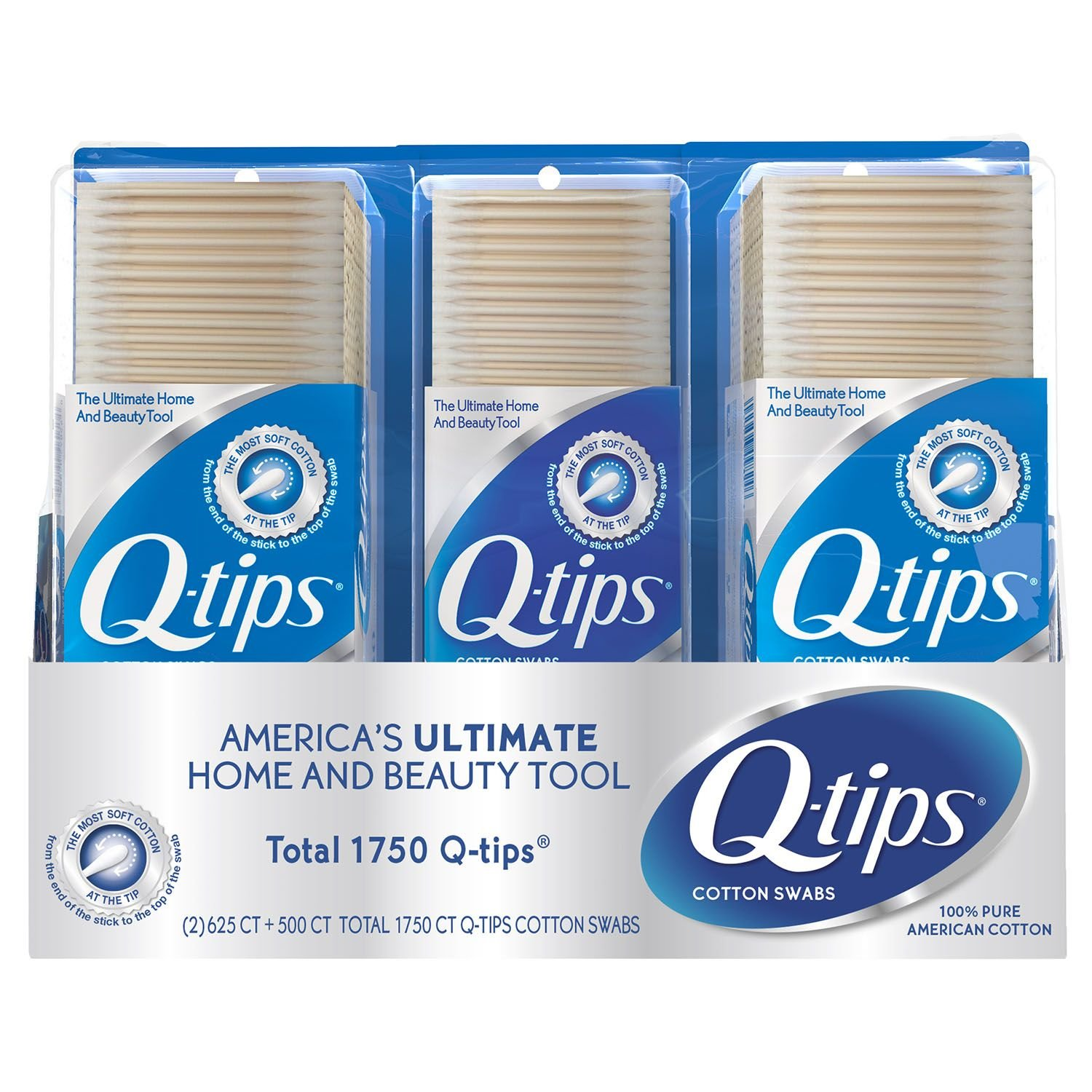 Q-tips Cotton Swabs Club (Pack of 6)