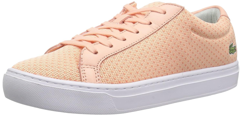 Lacoste Women's L.12.12 LIGHTWEIGHT1181CAW Sneaker B071KB4ZRG 8.5 B(M) US|Light Pnk/Org