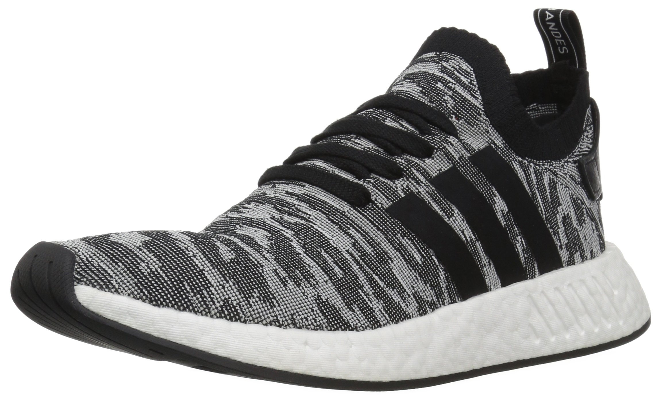detailed look d98a6 c7f9d adidas Originals Men's NMD_R2 PK Running Shoe Black/White, 10 M US