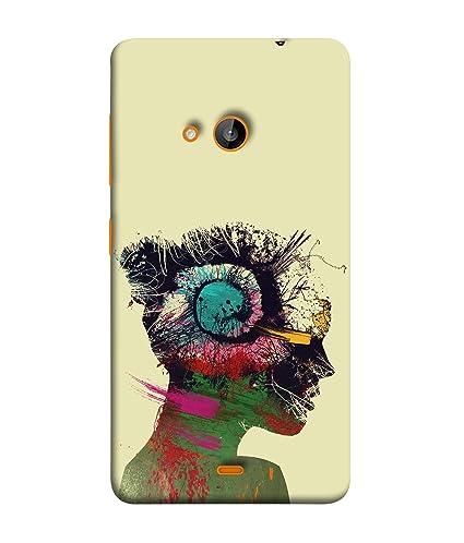 best sneakers 5c938 4046b Printvisa Designer Back Cover for Nokia Lumia 730 Dual: Amazon.in ...