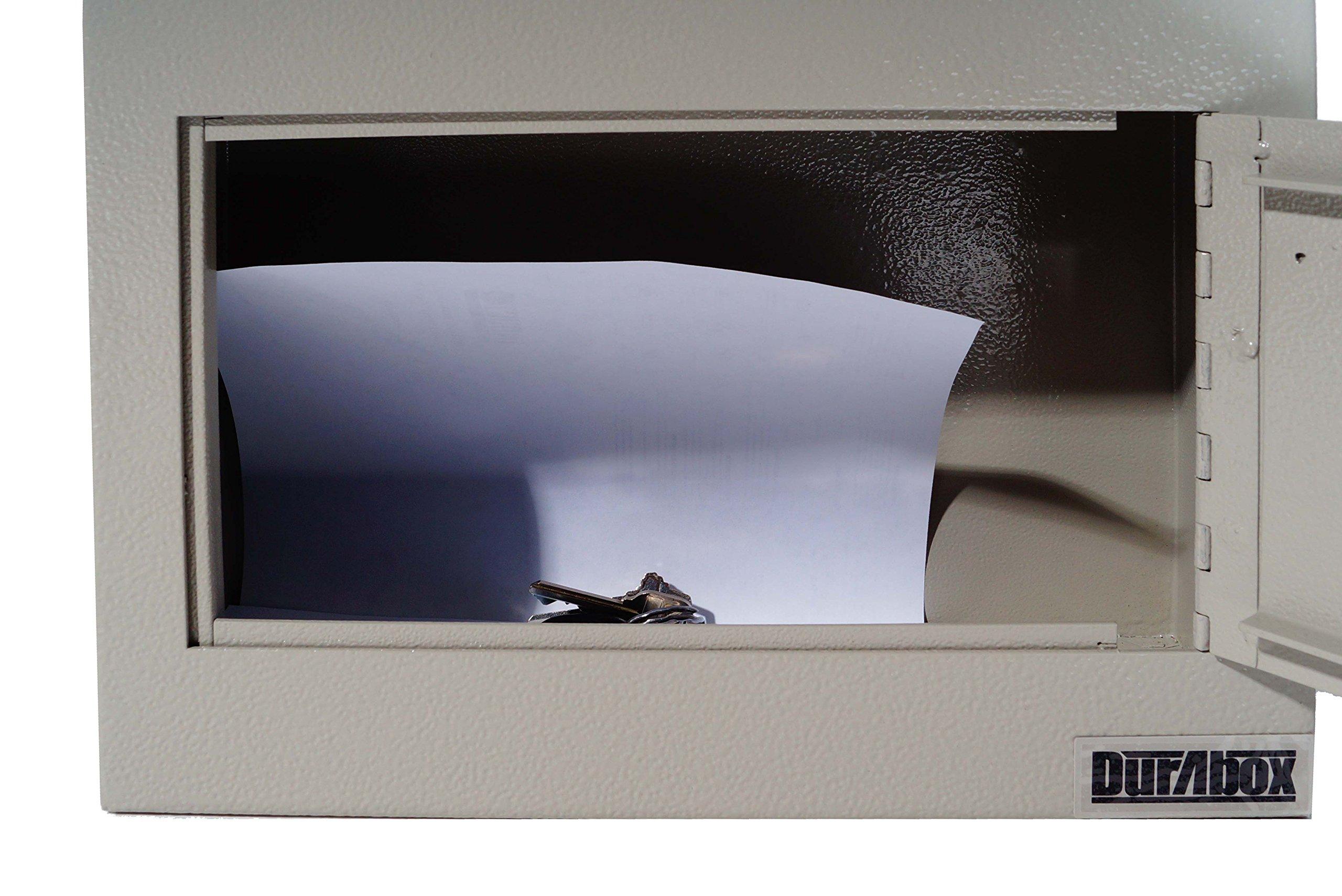DuraBox Wall Mount Locking Deposit Drop Box Safe (W500) by DuraBox