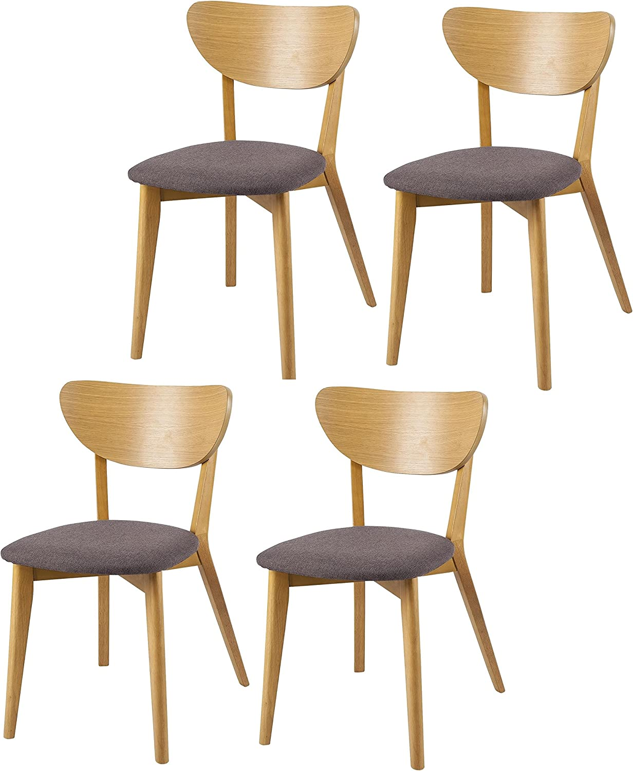 Tesco NEW Stockholm Retro Style Set of 11 Upholstered Dining Chairs