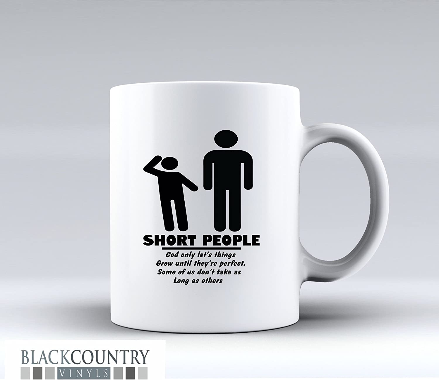 M156 SHORT PEOPLE Funny Design Novelty Gift Idea Coffee Tea