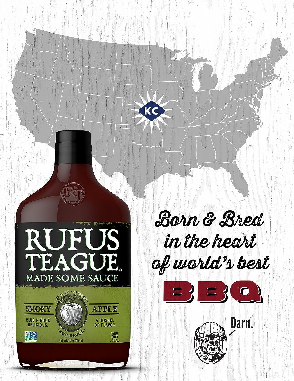 Rufus Teague- salsa ahumada para barbacoa de manzana - 453 ...