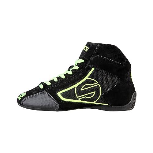 Sparco Zapatillas Abotinadas Negro/Verde EU 40