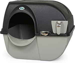 Omega Paw EL-RA20-1 Roll N Clean Self Separating Self Cleaning Litter Box