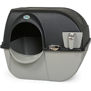 Amazon Com Catit Jumbo Hooded Cat Litter Pan Warm Gray