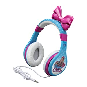 JoJo Siwa Headphones for Kids with Built in Volume Limiting Feature for Kid Friendly Safe Listening