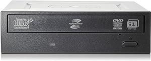 HP DVD-RW/DVD-RAM Internal Optical Drive QS208AA Black