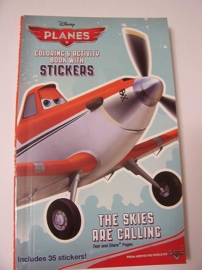 Amazon.com: Disney Planes Coloring & Activity Book with Stickers ...