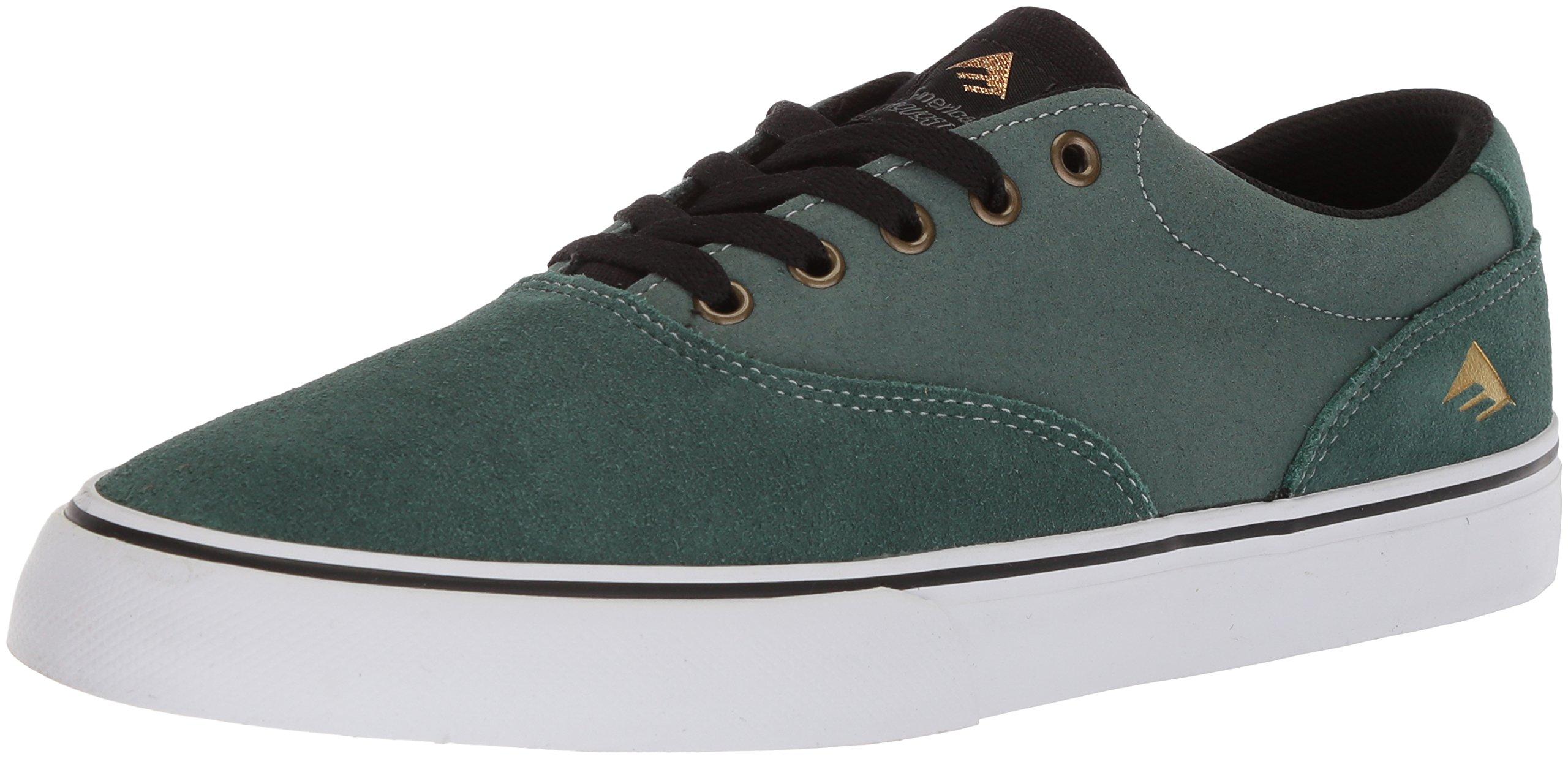 Emerica Provost Slim Vulc Skate Shoe,turquoise,13