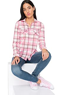 9fb872926019c0 Ardene Women s - Long Chambray Shirt at Amazon Women s Clothing store
