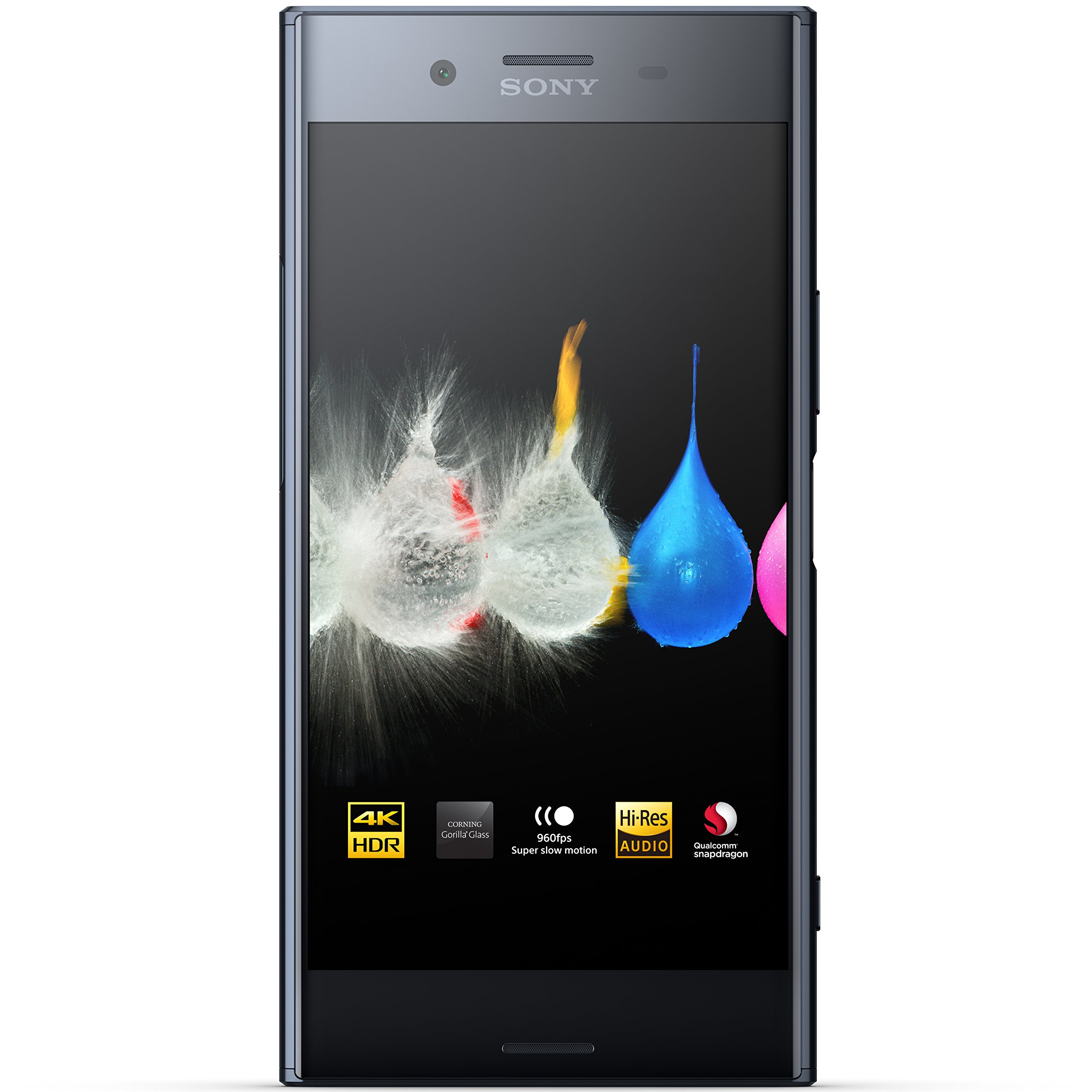 Sony Xperia XZ Premium - Unlocked Smartphone - 5.5'', 64GB - Dual SIM - Deepsea Black (US Warranty) by Sony